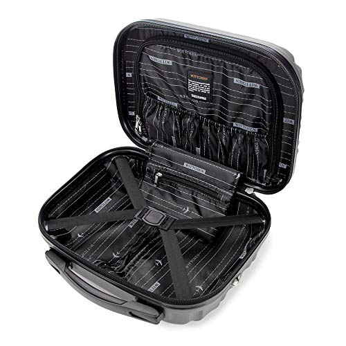 WITTCHEN Kosmetikkoffer   Material: ABS   Grau   15 L   30x16x34 cm