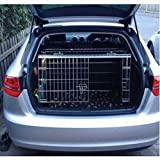 PET WORLD Audi A3 Dog Puppy Pet sloped Car travel training carrier crate, cage,