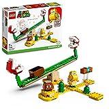 LEGO71365Super Mario Set de Expansión: Superderrape de la Planta Piraña, Juguete de...