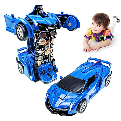 Toy Cars for 2-7 Year Old Boys, Transforming Toys Cars for 3 Year Old Boys and Toddlers, Robot Cars Toys for 4 Year Old Boys Birthday Gifts for 2 3 4 5 6 7 Years Kids Girl Boys