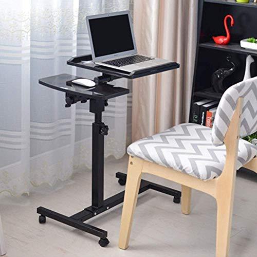 N/Z Home Equipment Laptop Tisch Sofa Tisch Beistelltische Home Overbed Tisch mit Kippplatte Höhenverstellbar Mobile Notebook/Laptop Schreibtisch Sofa Beistelltisch Für Krankenhaus und Schlafsaal Verw