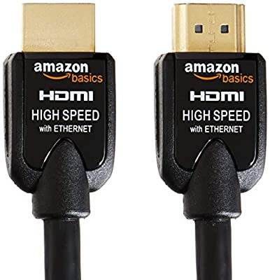 AmazonBasics 2-Pack High-Speed HDMI Cables Support