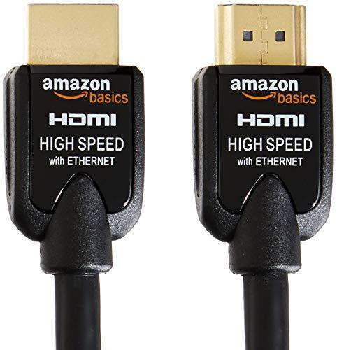 Amazonベーシック ハイスピードHDMIケーブル 2.0m 2本セット