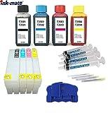 T3581, T3582, T3583, T3584 / T3591, T3592, T3593, T3594 / T35 XL + chipresetter e inchiostro da 400 ml per WorkForce Pro WF- 4720 4725 DWF 4730 4735 4740 DTWF