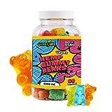 Green Life USA Hemp Gummies – 60Pcs Hemp Gummy Bears – - Stress & Anxiety Relief - Mood Enhancer & Immune Support - Rich in Vitamins A, B1, E & Omega 3-6-9