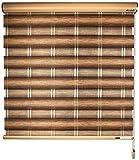 cortinas venecianas Sombras de rodillos for Windows con accesorios de instalación Persianas de rodillos Zebra Filtrado de luz Filtrado Día y noche Persianas Cortinas for baño Baño Cocina Blackout Pers