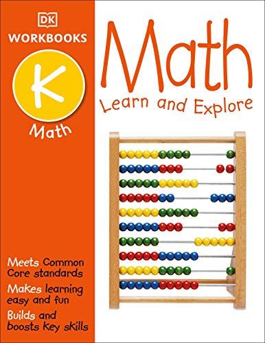『DK Workbooks: Math, Kindergarten: Learn and Explore』のトップ画像