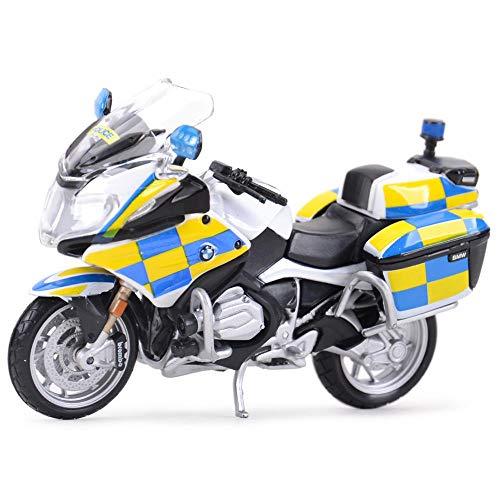 Auto modelo 1:18 R1200 Rt Police Die Cast Vehículos Coleccionables Modelo De Motocicleta Juguetes