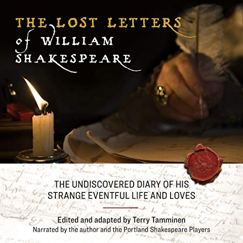 The Lost Letters of William Shakespeare audiobook cover art