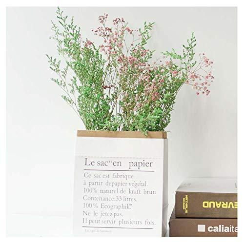 Rongxin Flor seca floral conjunto de la decoración del libro de la hierba de San Valentín