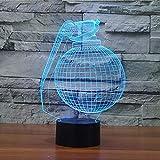 BINGXY Nouveauté Forme De Pellet 3D Veilleuses LED Comme Décorations De Chambre À...
