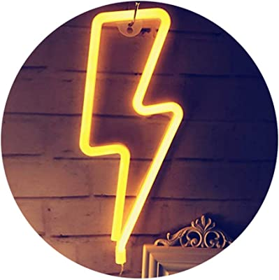 QiaoFei Neon-Schilder mit LED-Beleuchtung, dekoratives Festzeltschild, Wanddekoration für Hochzeit, Party, Kinderzimmer, Wohnzimmer, Haus, Bar, Kneipe, Hotel