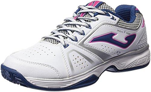 Joma T.Master 1000 Lady 602 Blanco-Marino Zapatillas de Tenis, Mujer, 37