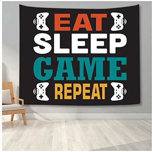 KBIASD Tapiz temático de Videojuegos tapices Modernos para Hombres y niños tapices Hippies Colgantes de Pared para Dormitorio Dormitorio Universitario decoración de Pared para el hogar 150x130cm