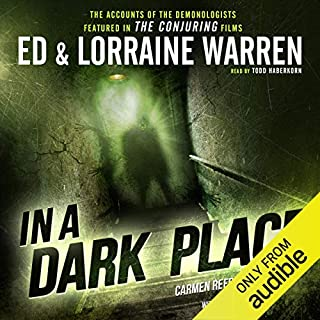 In a Dark Place audiobook cover art