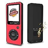 BERTRONIC Made in Germany BC02 Royal MP3-Player Bis 100 Stunden Wiedergabe Radio | Portabler Player mit Lautsprecher | Audio-Player für Sport mit Micro SD-Kartenslot