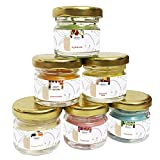 Best Scented Candles - Divine Senses Wax Mini Jar Scented Candles, Pack Review