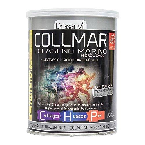 COLLMAR Collagene idrolizzato al limone + Magnesio + Vitamina C 300G Drassanvi