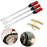 Sumnacon Tire Levers Spoon Set, Heavy Duty Motorcycle Bike Car Tire Irons Tool Kit,3 Pcs T...