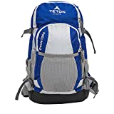 TETON Sports Oasis 1200 Hydration Pack; Free 3-Liter Hydration Bladder; For Backpacking, Hiking, Running, Cycling, and Climbing