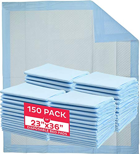 A World Of Deals Disposable Blue Underpad 23 X 36, 150/Case,
