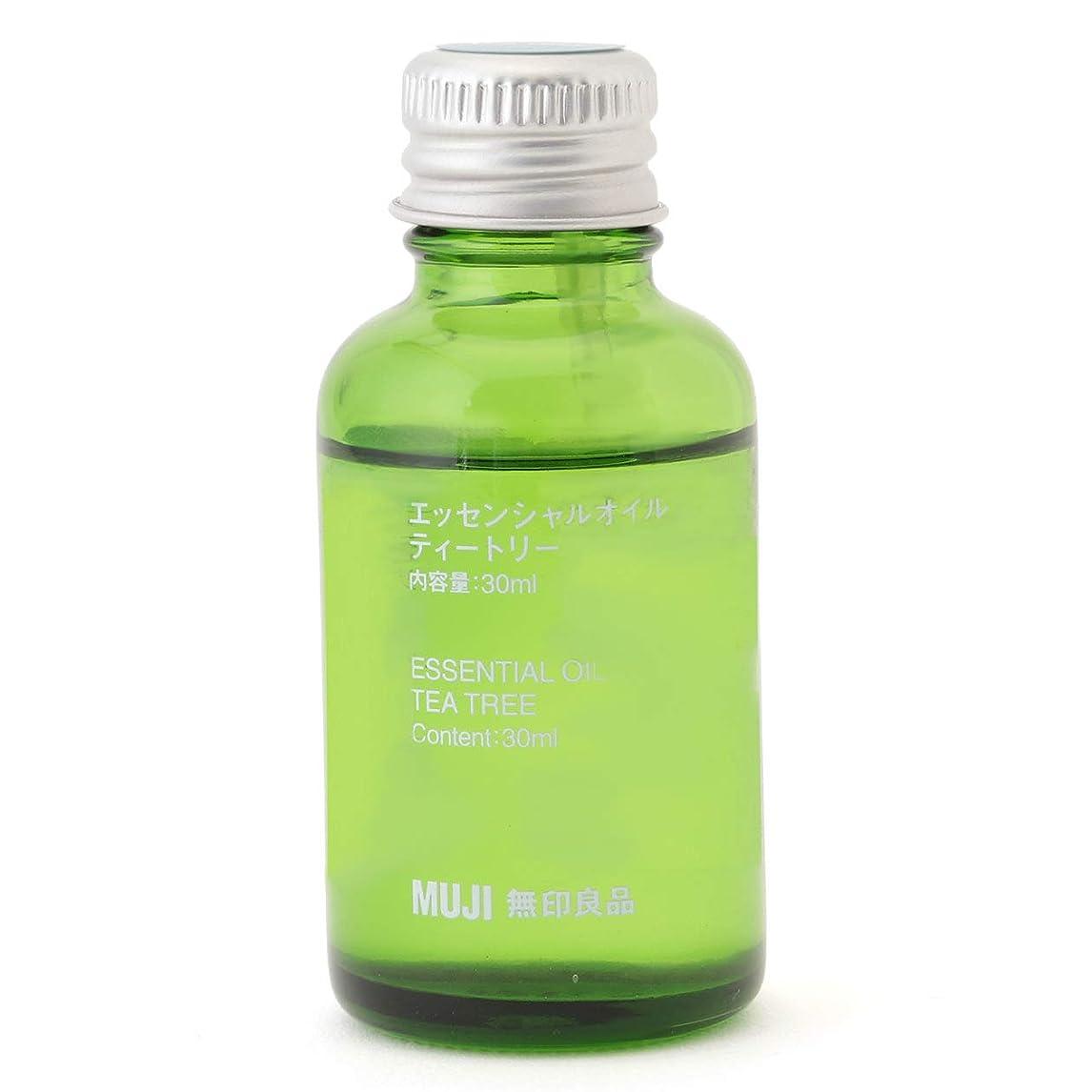 ウェイドカップ質素な【無印良品】エッセンシャルオイル30ml(ティートリー)
