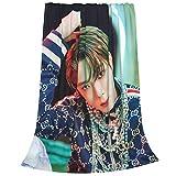 Nc-T U Jaehyun Mantas, manta de felpa ultra suave, mantas de forro polar para sofá cama y sala de estar 202 x 150 cm