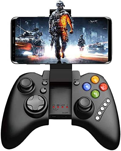 SEMSA Bluetooth Wireless Video Game Controller Gamepad Gaming Joystick with Holder Remote Control product image