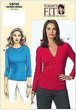 Vogue Sandra Betzina Pattern 8151 Misses Pullover Tops, Bust Size 38-40 1/2- 43