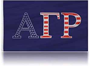 We The Greek Alpha Gamma Rho 3' X 5' Officially Licensed USA Fraternity Flag