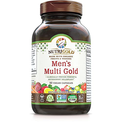 Organic Multivitamin for Men, Men's…