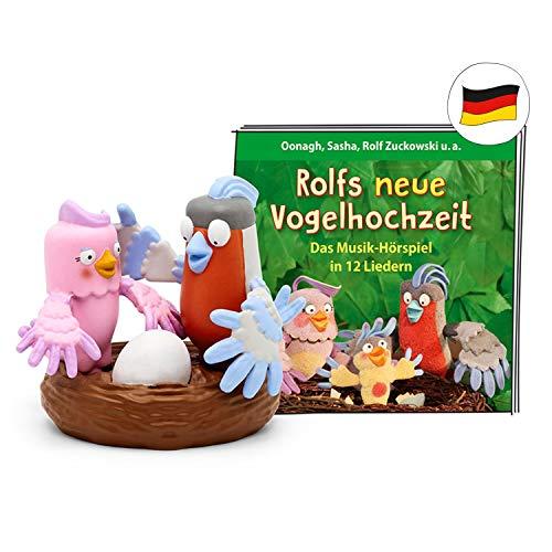 tonies Hörfiguren für die Toniebox - Rolf Zuckowski – Rolfs Neue Vogelhochzeit Figur - ca. 36 Minuten ab 3 Jahren - Deutsch