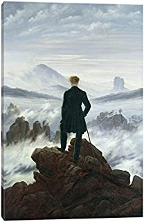 iCanvasART The The Wanderer Above The Sea of Fog, 1818 Canvas Print, 18