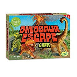 2. Peaceable Kingdom Dinosaur Escape Game