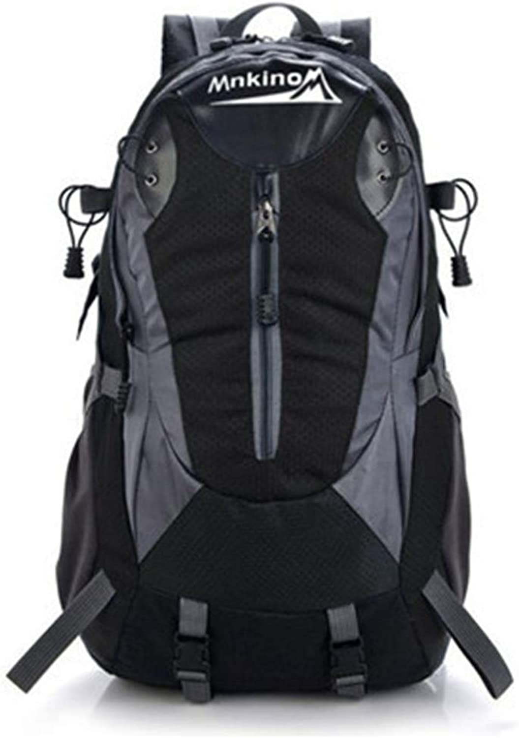 Hiking Backpack Large Capacity Outdoor Mountaineering Bag for Women  Rainproof Sports Backpack Hiking Day Backpack Suitable for Mountain Skiing Mountaineering Bag (color   Black, Size   One Size)