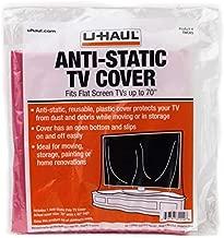 U-Haul Anti-Static TV Cover (Fits Flat Screens up to 70