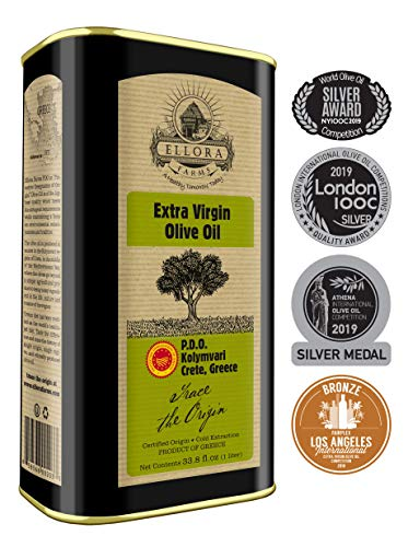 Ellora Farms   Certified PDO Extra Virgin Olive Oil   Mono-varietal   Cold