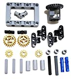 LEGO Technic Differential gear box kit (gears, pins, axles, connectors) 27 pieces by LEGO