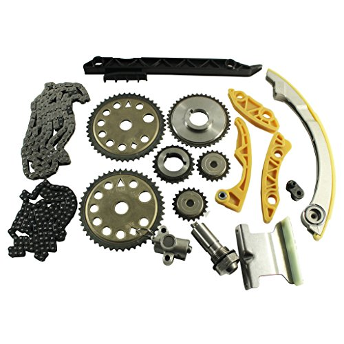 JDMSPEED New Engine Timing Chain Kit W/Balance Shaft Set L61 Replacement For GM 2.0L 2.2L 2.4L Ecotec 00-11