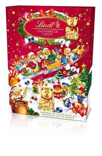 Lindt Calendrier de lAvent Ours Chocolat Noël - 172g