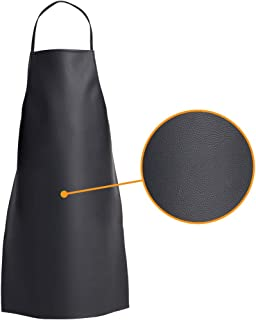 PVC Apron - Adjustable Bib Water Resistant Multipurpose Apron, Best for Chef, Grooming, Dishwashing, Cooking, Kitchen, Car Wash and More for Men and Women