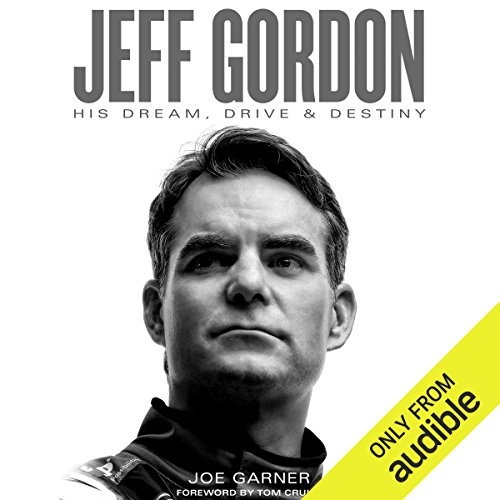 Jeff Gordon audiobook cover art