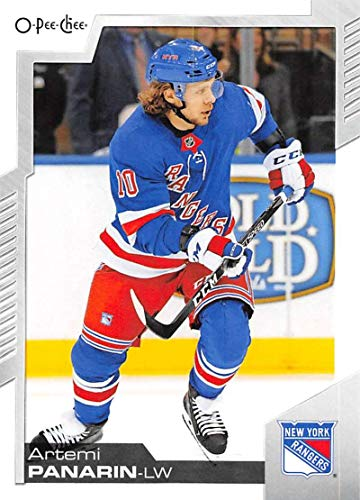 2020-21 O-Pee-Chee Hockey #417 Artemi Panarin New York Rangers Official NHL OPC Trading Card From The Upper Deck Company