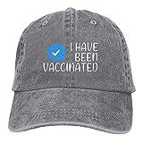 Garitin I Have Been Vaccined Hat Casquette de baseball réglable unisexe lavable en coton