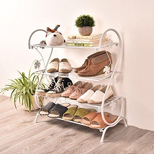 Einfache multi-layer-schuh-rack, Schlafzimmer Staubdicht Speichern Schuhschrank um platz zu sparen...
