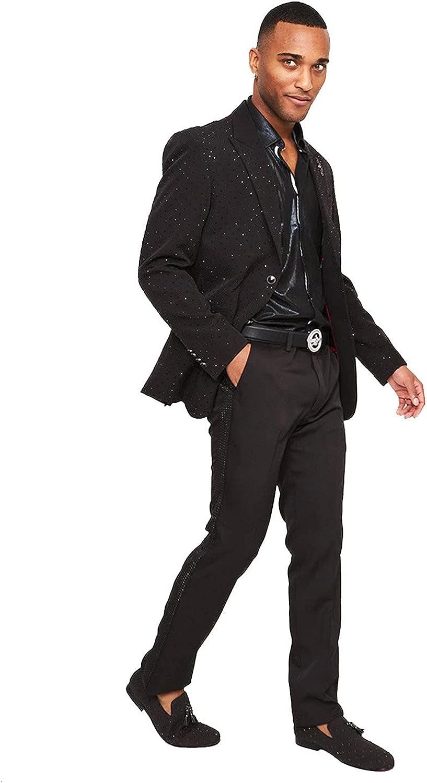Marvel Black Jacket 5XL/52 Pants 46