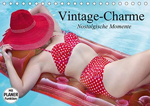 Vintage-Charme. Nostalgische Momente (Tischkalender 2021 DIN A5 quer)