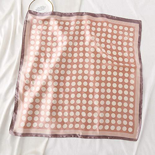 Charm4you Bufanda Decorativa Cuadrada pequeña,Pañuelo Cuadrado pequeño de Todo fósforo Simple y...