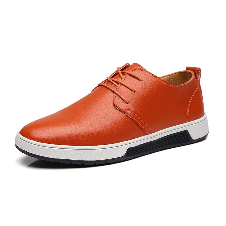 [Agogoo] カジュアルシューズ ビジネスシューズ 革靴 メンズシューズ オールシーズン 軽量 クッション性 外羽根 就活 通勤 普段用