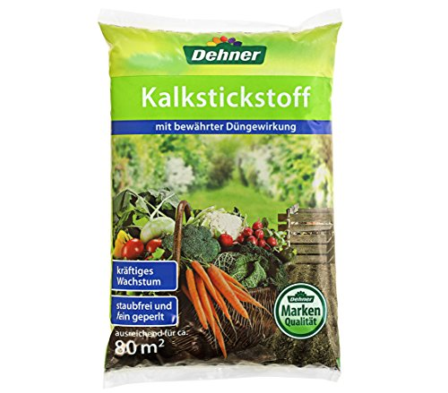 Dehner Kalkstickstoff-Dünger, 4 kg, für ca. 80 qm